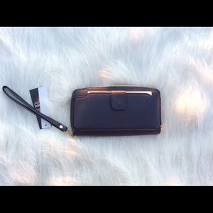 Handbags - Navy blue Wallet/ Cellphone Case